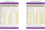 Train/Bus Timetables