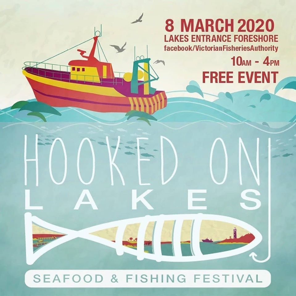 Hooked on Lakes Entrance