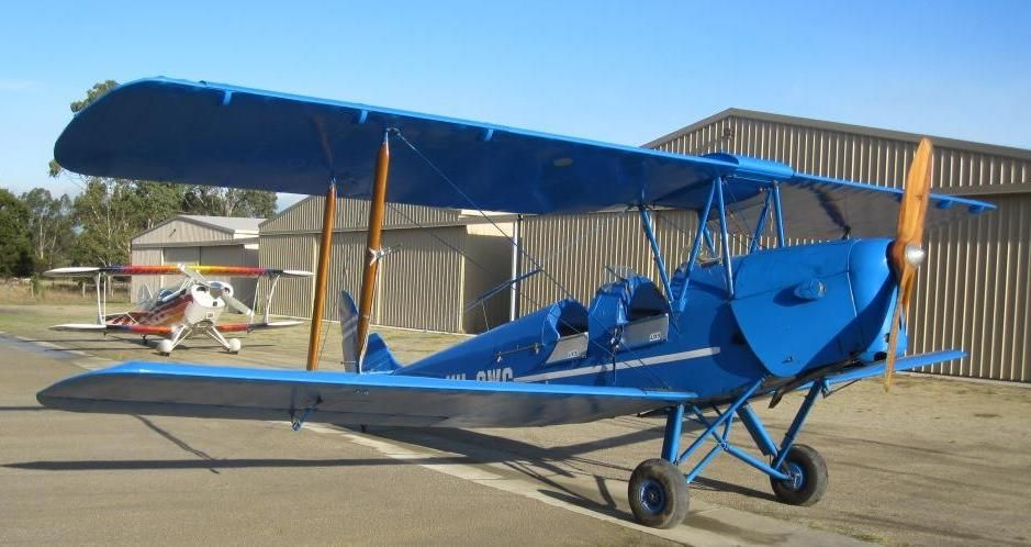 Tiger Moth Flights - Lakes Entrance