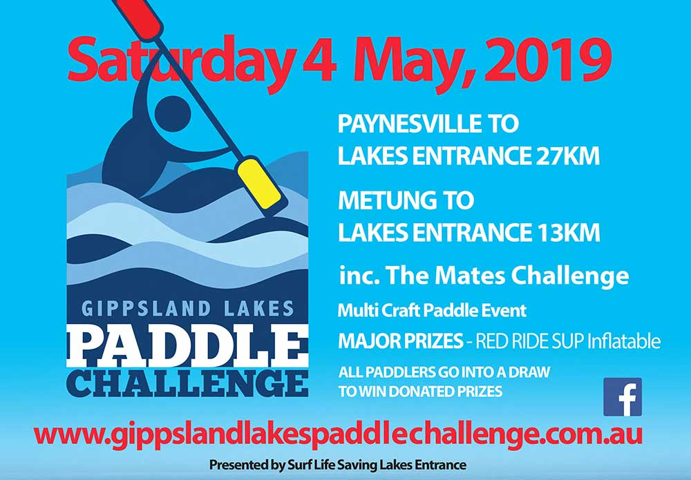 paddle challenge poster