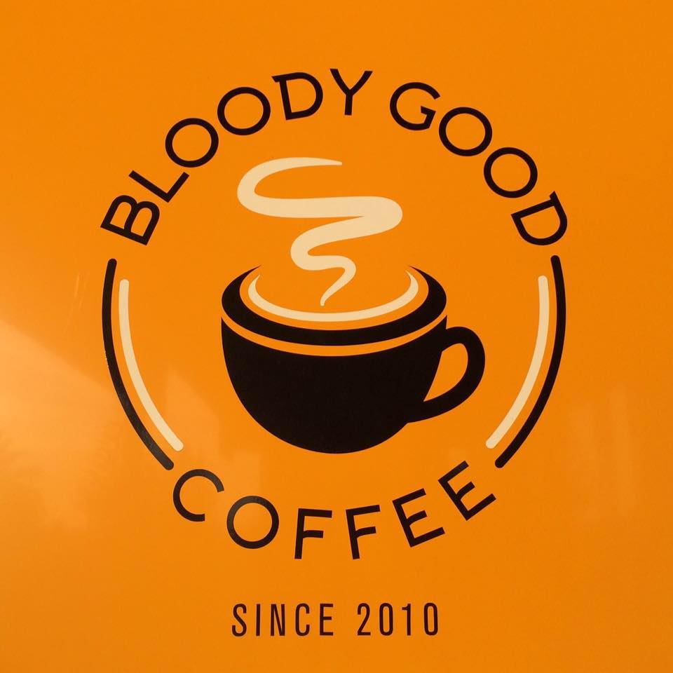 bloody good coffee